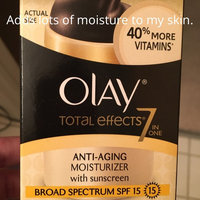 Olay Total Effects 7-in-1 Moisturizing Vitamin Complex Fragrance Free uploaded by Julie G.