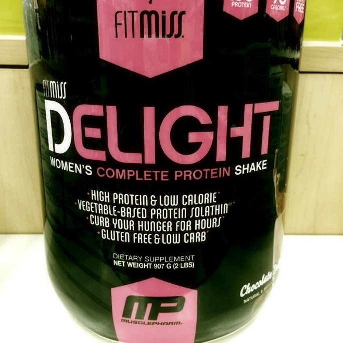 FitMiss Delight Women's Complete Protein Shake Chocolate Delight uploaded by Leslye R.
