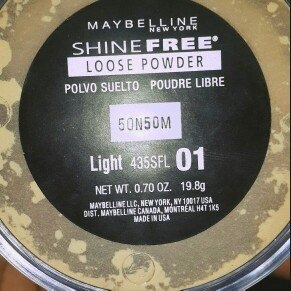 Maybelline Shine Free - Loose Oil Control Loose Powder uploaded by Victoria P.