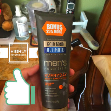 Photo of Gold Bond Ultimate Men's Essentials Everday Hydrating Cream, 6.5 oz uploaded by Marisol B.