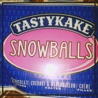 Tastykake® Snowballs Coconut & Marshmallow Covered Creme Filled Chocolate Cakes uploaded by Alicia D.