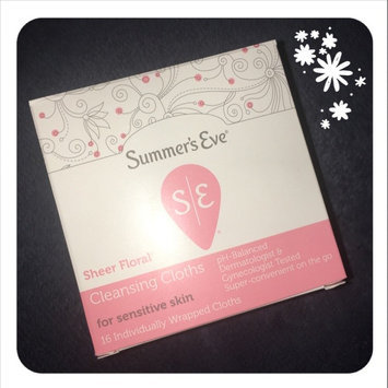 Photo of Summer's Eve Cleansing Cloths for Sensitive Skin uploaded by Maggs P.