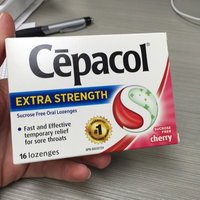 Cepacol Sugar Free Sore Throat Oral Pain Reliever Lozenges uploaded by Lindsay N.