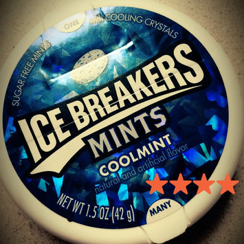 Photo of ICE BREAKERS SUGAR FREE MINTS COOLMINT uploaded by Ashley P.