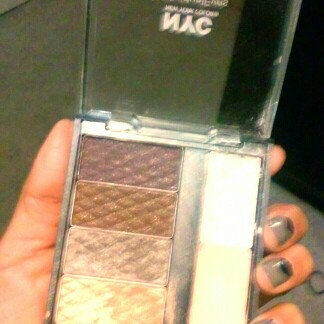 Photo of NYC Compact Palette, Smokey Blues for Blue Eyes, 1 set uploaded by Ana M.