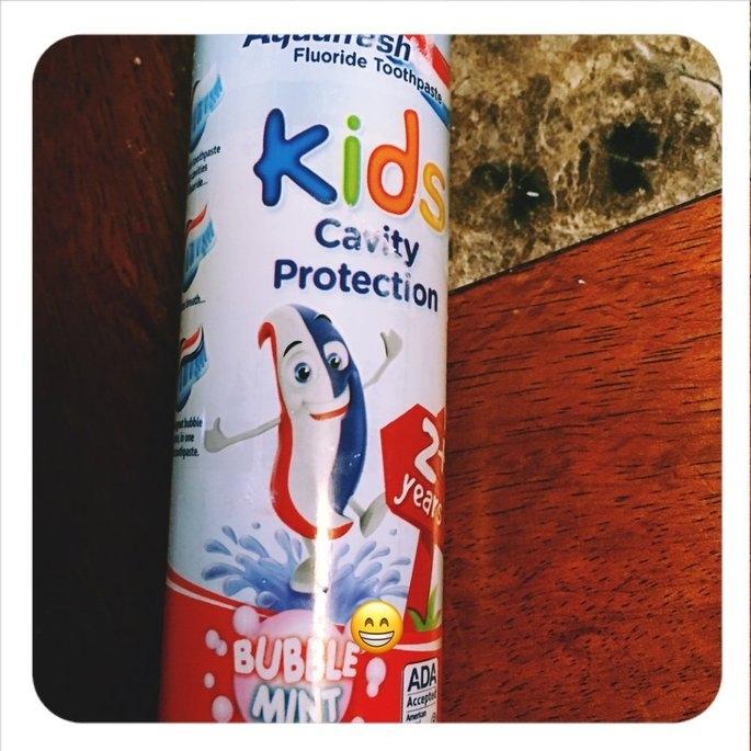 Aquafresh Kids Cavity Protection Toothpaste uploaded by Kelsie T.