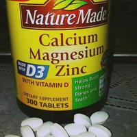 Nature Made Calcium Magnesium Zinc Tablets With Vitamin D