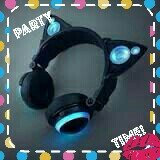 Cat Ear Headphones Purple uploaded by Bella D.