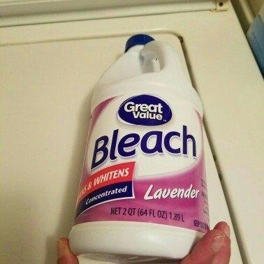 Great Value Lavender Bleach, 64 fl oz uploaded by Brooklyn D.
