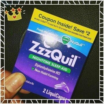 ZzzQuil Nighttime Sleep-Aid Liquid, Warming Berry uploaded by sandra j.