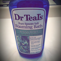 Dr. Teal's Relax & Relief Foaming Bath uploaded by Chelsea P.