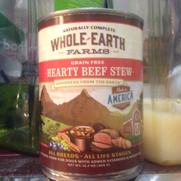 Photo of Whole Earth Farms Grain Free Red Meat Canned Dog Food, Case of 12 uploaded by Crystal S.