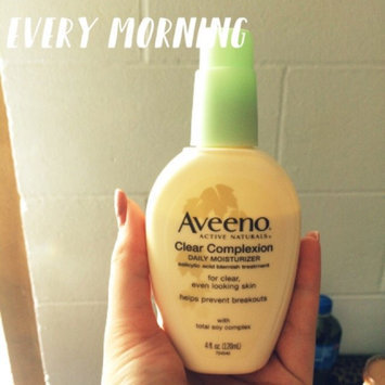Photo of Aveeno® Clear Complexion Daily Moisturizer uploaded by Alyssa T.