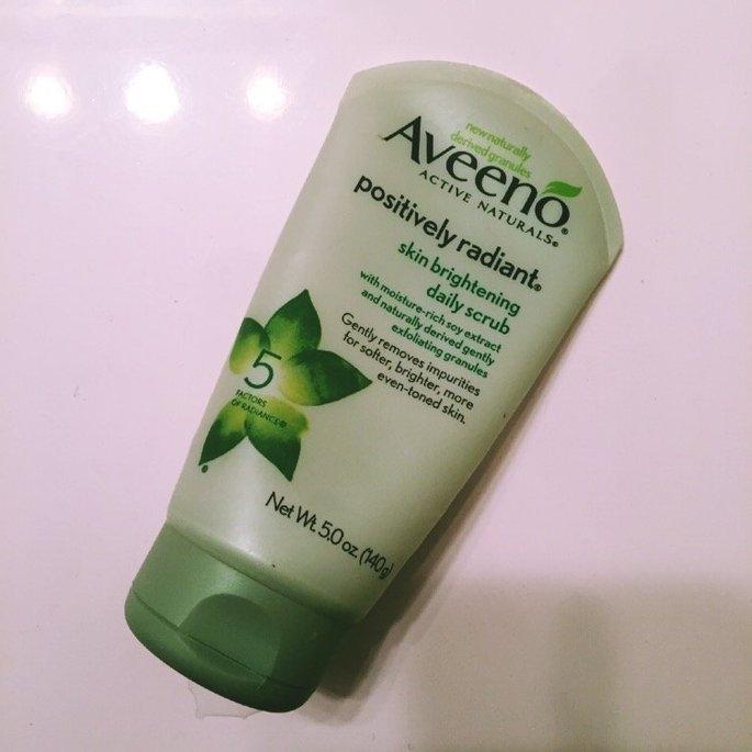 Aveeno Positively Radiant Skin Brightening Daily Scrub uploaded by Ashley R.