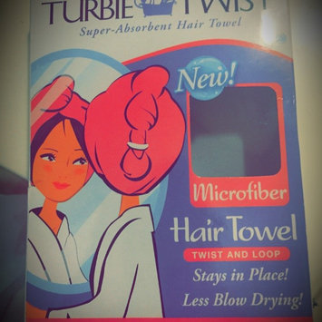 Photo of Turbie Twist Combo Pack Wet Day/Dry Day Hair Towel & Shower Cap uploaded by Rebecca D.