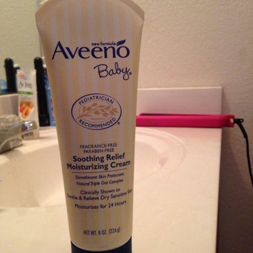 Photo of Aveeno® Baby Soothing Relief Moisture Cream uploaded by rose e.