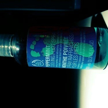 The Body Shop Peppermint Cooling Foot Spray uploaded by Stephanie d.