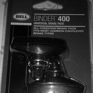 Photo of Bell BINDER 400 Universal Brake Pad pair uploaded by Benji P.
