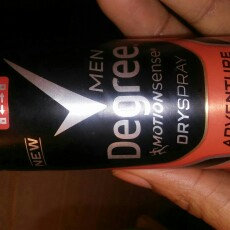 Photo of Degree Men Dry Spray Antiperspirant, Adventure, 3.8 oz uploaded by Nalia R.