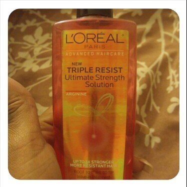 L'Oréal Advanced Haircare Triple Resist Ultimate Strength Solution uploaded by Nicole G.