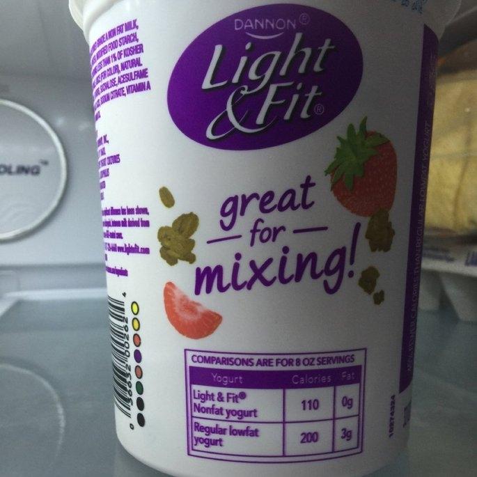 Dannon Light & Fit 60 Calorie Packs Strawberry/Blueberry/Raspberry Nonfat Yogurt - 12 PK uploaded by Mariah D.