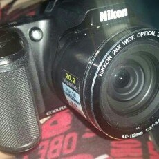 Nikon Coolpix L330 20.2MP Digital Camera with 26X Optical Zoom - Black uploaded by Summer M.