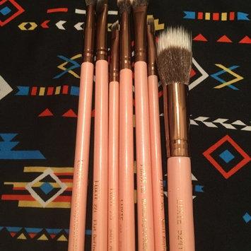 Luxie Rose Gold Synthetic 5 Piece Kabuki Brush Set uploaded by Moonya D.