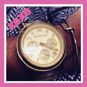 MICHAEL Michael Kors Women's Chronograph Bracelet Watch 38MM uploaded by DeCara J.