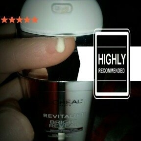 L'Oréal Paris Revitalift Bright Reveal Brightening Dual Overnight Moisturizer uploaded by Michelle T.