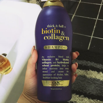 Photo of OGX® Biotin & Collagen Shampoo uploaded by Kayla B.