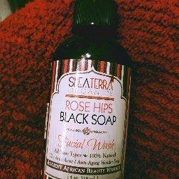 Photo of Shea Terra Organics Rose Hips Black Soap Deep Pore Facial Cleanser uploaded by Aj W.