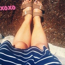 Birkenstock Unisex Arizona Soft Footbed Sandal [] uploaded by Barrina F.