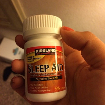 Photo of kirkland Signature Nighttime sleep aid - 96 Tablets uploaded by Valerie B.