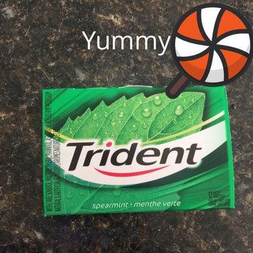 Trident Spearmint Sugar Free Gum uploaded by Sara S.