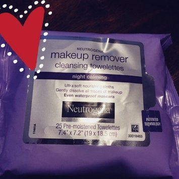 Neutrogena Make-Up Remover Cleansing Towelettes Night Calming uploaded by Nancy C.