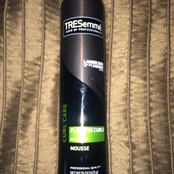 Photo of TRESemmé Curl Care Flawless Curls Hair Extra Hold Mousse uploaded by Lacey F.