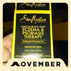 Photo of SheaMoisture African Black Soap Eczema & Psoriasis Therapy uploaded by Suzanne M.