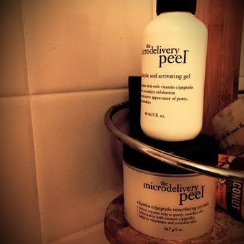 Photo of philosophy microdelivery peel kit uploaded by Whitney C.