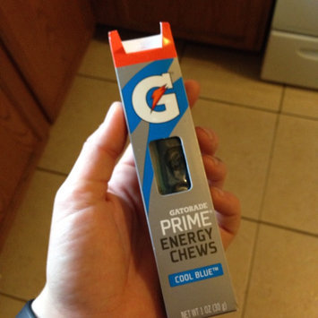 Gatorade G Series 01 Prime Cool Blue Energy Chews - 6 CT uploaded by Ashley L.