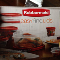 Rubbermaid Easy Find Lids 34-Piece Food Storage Set, Racer Red uploaded by Alex G.