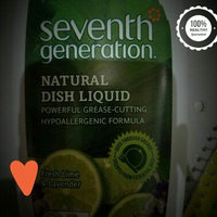 Seventh Generation Natural Dish Liquid, Fresh Lime & Lavender, 25 oz uploaded by Aime R.