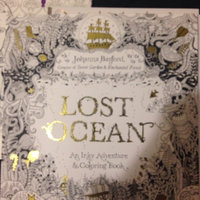Lost Ocean: An Inky Adventure and Coloring Book uploaded by Michelle W.