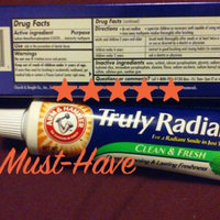 Arm & Hammer™ Truly Radiant™ Clean Mint Fluoride Anticavity Toothpaste 4.3 oz. Box uploaded by Amanda R.