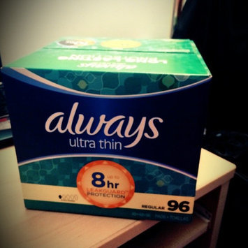 Photo of Always Ultra Thin Size 1 Regular Pads With Wings Unscented uploaded by Elizabeth T.