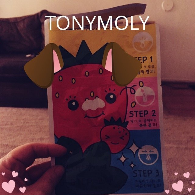 Tony Moly Strawberry Nose Pack uploaded by Carli D.