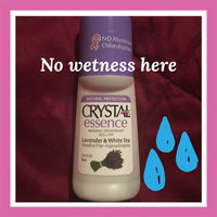 Crystal Deodorant Essence Roll -On Lavender/White Tea 2.25 oz. (3-Pack) with Free Nail File uploaded by Taryn C.
