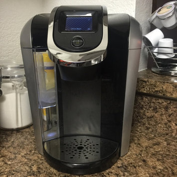 Keurig - 2.0 K550 4-cup Coffeemaker - Black/dark Gray uploaded by James C.
