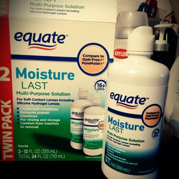 Equate - Multi-Purpose Contact Lenses Solution uploaded by Karina O.
