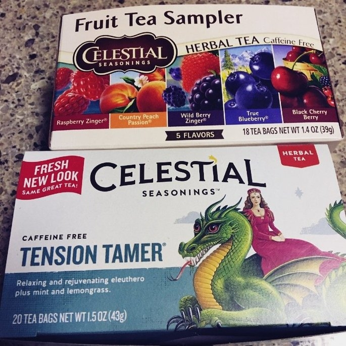 Celestial Seasonings Fruit Tea Sampler Herb Tea Caffeine Free uploaded by Barbara S.