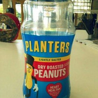 Planters Lightly Salted Dry Roasted Peanuts Jar uploaded by Natalia B.